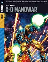 Valiant Masters X-O Manowar: Into the Fire
