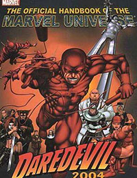 Official Handbook of the Marvel Universe: Daredevil 2004