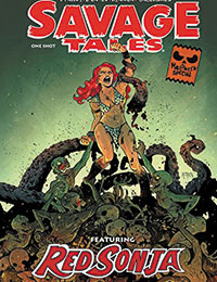 Savage Tales: A Red Sonja Halloween Special