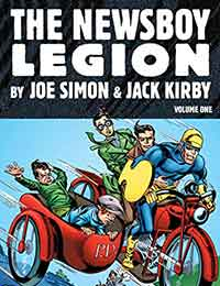 The Newsboy Legion by Joe Simon and Jack Kirby