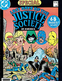 Last Days of the Justice Society Special