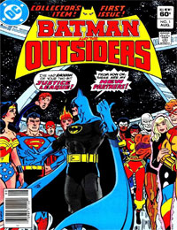 Batman And The Outsiders 1983 Comic Read Batman And The Outsiders 1983 Comic Online In High Quality