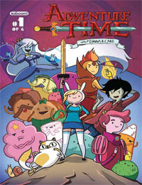 Adventure Time with Fionna & Cake