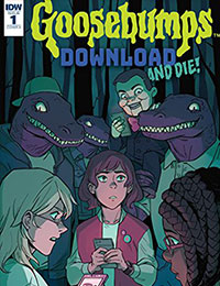 Goosebumps: Download and Die comic | Read Goosebumps: Download and