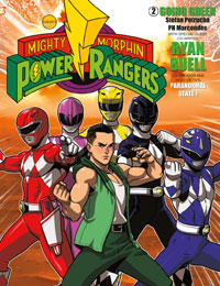 Mighty Morphin Power Rangers: Going Green
