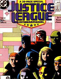 Justice League International (1987)