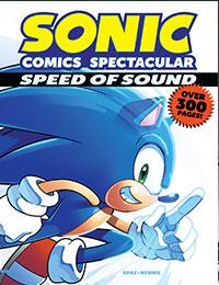 sonic comics spectacular speed of sound comic read sonic comics