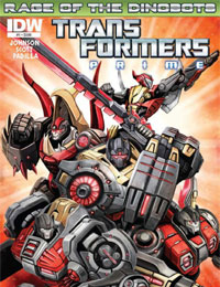 The Transformers Prime: Rage of the Dinobots