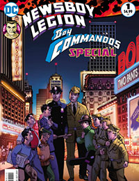 The Newsboy Legion and the Boy Commandos Special