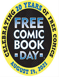 Free Comic Book Day 2021 cover
