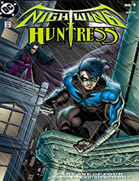 Nightwing and Huntress