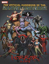Official Handbook of the Marvel Universe: Horror 2005
