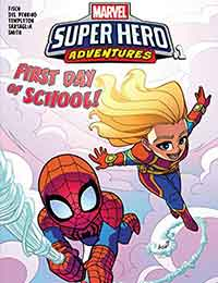 Marvel Super Hero Adventures: Captain Marvel - First Day of School!